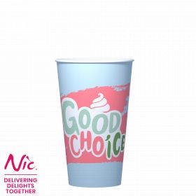 35130 Good Choice Composteerbare Shake/IJsbeker Large 500ml